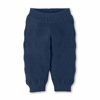 Sterntaler Boys Knit Trousers Age: 3-4 Months Size: 0-3m Navy Blue