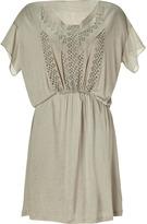 Vanessa Bruno Khaki Eyelet Dress