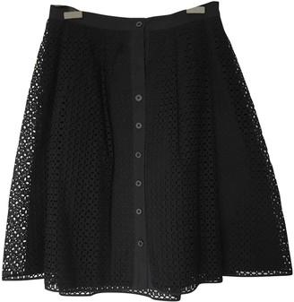 Thakoon Black Cotton Skirt for Women