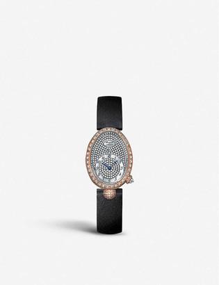 Breguet G8928BR8D844DD0D Queen of Naples 18ct rose gold and diamond watch