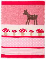 NEW David Fussenegger Red Bambi Lena Bassinet Blanket