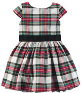 Carter's Toddler Girl Plaid Sateen Dress