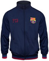 F.C. Barcelona FC Barcelona Official Soccer Gift Mens Retro Track Top Jacket Navy