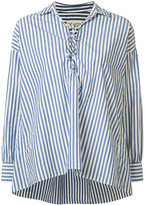 Nili Lotan striped shirt - women - Cotton - XS