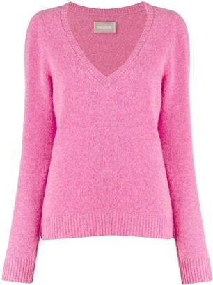Zadig & Voltaire Sourca fine knit jumper
