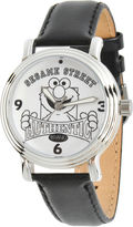 Sesame Street Womens Black Strap Watch-Wss000015