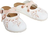 Birkenstock Infant Girls Dorian Birko-Flor Narrow Fit Sandals Frozen Elsa Rose White