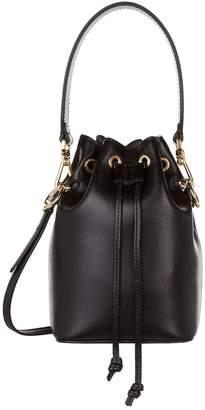 Fendi Mini Leather Mon Tresor Bucket Bag