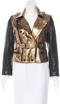 3.1 Phillip Lim Metallic Leather Jacket