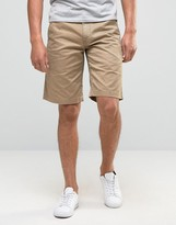 Barbour City Newston Chino Shorts Twill In Stone