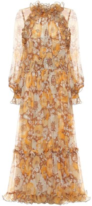 Zimmermann Super Eight ruffled silk maxi dress