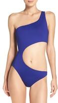 Trina Turk Women's One-Shoulder One-Piece Swimsuit