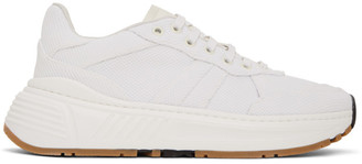 Bottega Veneta White Mesh Speedster Sneakers