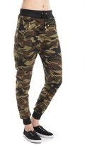 Amazing Grace's Camouflage Zipper Detail Jogger Pants (Large-XLarge, )