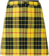 Junya Watanabe Comme Des Garçons tartan mini skirt