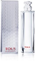 Tous Silver by for Women - 3 Ounce EDT Spray