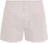 Sunspel Loop-print cotton boxer shorts