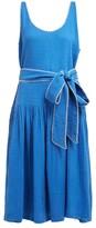 Anaak - Camilla Gathered Cotton-gauze Dress - Womens - Blue