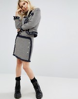 Sister Jane Tweed Mini Skirt