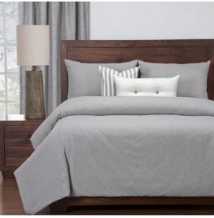 Siscovers Harvest Pewter Farmhouse 6 Piece Queen Luxury Duvet Set Bedding