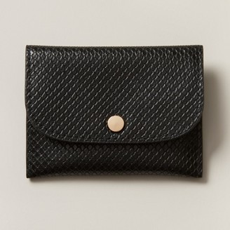 Love & Lore Love And Lore Card Coin Case Black Snake