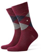 Burlington Printed Virgin Wool Ankle Socks