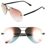 Ray-Ban Women's 59Mm Aviator Sunglasses - Gold
