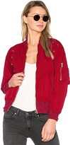 Iro . Jeans Milisa Jacket in Red. - size 34/2 (also in 36/4)