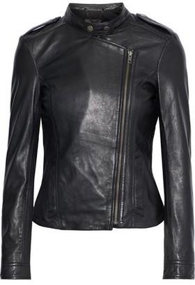 Muu Baa Muubaa Tredoux Leather Biker Jacket