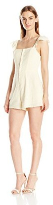 Somedays Lovin Women's Exhale Textured Playsuit