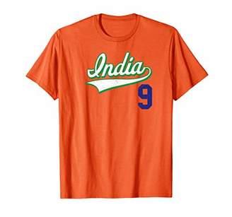 India Football Soccer Jersey Cricket Baseball T-Shirt