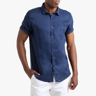 La Redoute Collections Short-Sleeved Linen Shirt