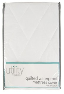 Sleeping Partners Tadpoles Quilted Waterproof Mattress Cover Crib Bedding