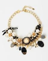 Pearl & Jewel Statement Necklace