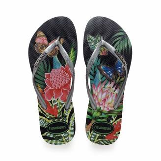 Havaianas Women's Slim Tropical Flip Flop Sandal
