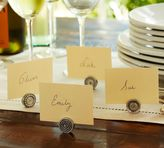 Pottery Barn Antique Bar Place Card Holder, Set of 4