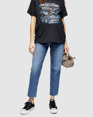 Topshop Maternity Straight Jeans