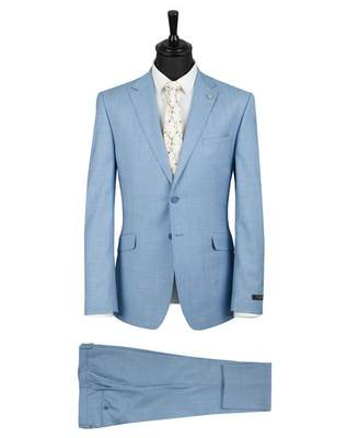 Ted Baker Formals Steadyn Tonic Suit Colour: LIGHT BLUE, Size: 38