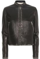 Valentino Rockstud Untitled leather jacket