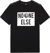Diesel No One Else cotton t-shirt 6-16 years