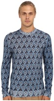 Marc Jacobs Peacock Print Crewneck Sweater
