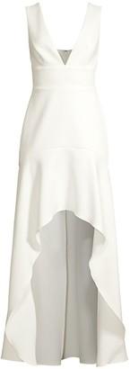 BCBGMAXAZRIA Eve High-Low Dress