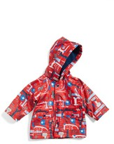 Hatley Infant Boy's Hooded Print Raincoat