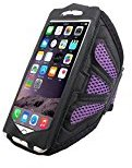 iPhone 7 Sports Armband,AutumnFall Breathable Running Workout Armband for iPhone 6 6s/ iPhone 7 (Purple)