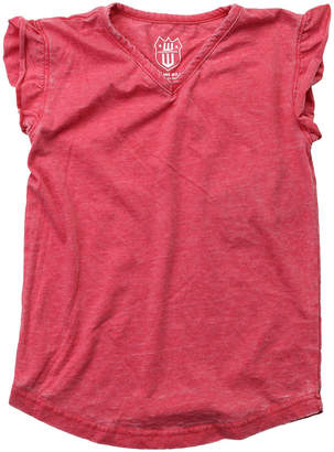 Wes And Willy Wes Willy Burn Out Ruffle T-Shirt