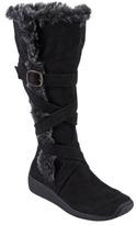 ADI Womens Designs Faux Fur Microsuede Boots