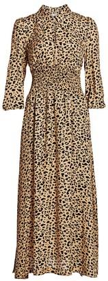 Baum und Pferdgarten Amber Leopard Shirtdress