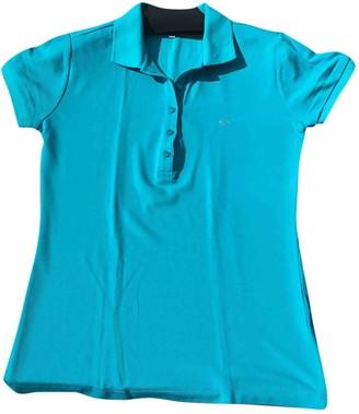 Escada Turquoise Cotton Top for Women