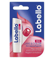 Labello Care + Color Lip Balm - Red by 4.8g Lip Balm)