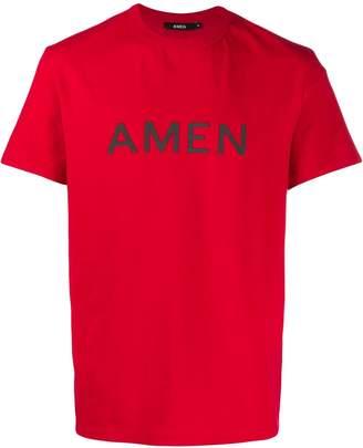 Amen printed logo T-shirt